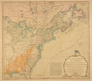US map (1783)